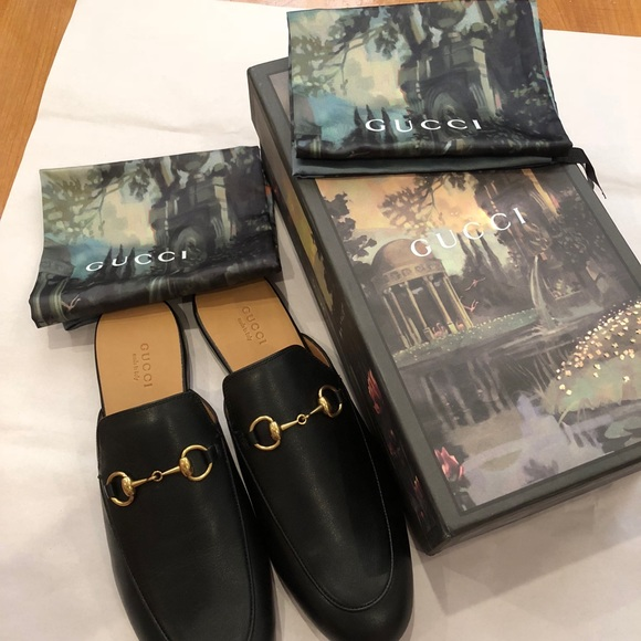 a297bbbde Gucci Shoes | Womens Princetown Leather Mules | Poshmark